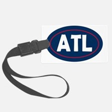 Atlanta Oval Luggage Tag
