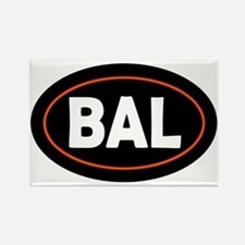 Baltimore Oval Rectangle Magnet