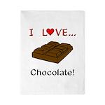 I Love Chocolate Twin Duvet