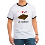 I Love Chocolate Ringer T