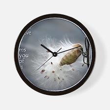 milkweed - Vibe Shifting Calendar Wall Clock