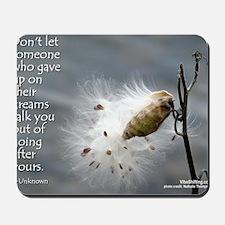 milkweed - Vibe Shifting Calendar Mousepad