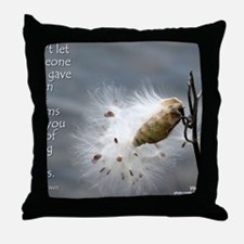 milkweed - Vibe Shifting Calendar Throw Pillow