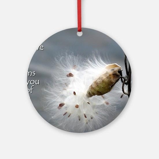 milkweed - Vibe Shifting Calendar Round Ornament