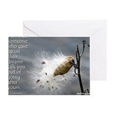 milkweed - Vibe Shifting Calendar Greeting Card