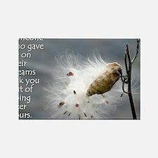 milkweed - Vibe Shifting Calendar Rectangle Magnet