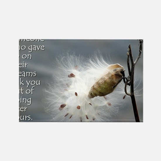 milkweed - Vibe Shifting Calendar Rectangle Magnet