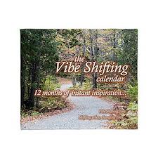 Vibe Shifting Calendar Throw Blanket