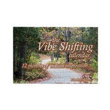 Vibe Shifting Calendar Rectangle Magnet