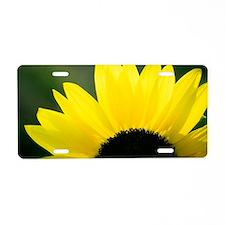 Sunrise Petals Aluminum License Plate