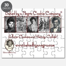 Baked by a Negro Classic Designs Puzzle