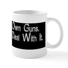 I Love Guns Mug