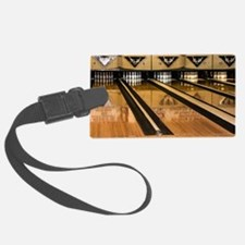 The Bowling Alley Luggage Tag