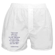 I Will Fight Back Boxer Shorts