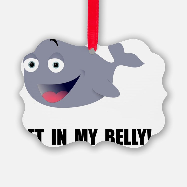 Whale Belly Ornament