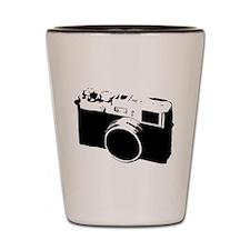 Cool Retro Vintage Camera Shot Glass