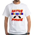 NATIVE PRIDE White T-Shirt