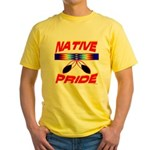 NATIVE PRIDE Yellow T-Shirt