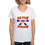 NATIVE PRIDE Women's V-Neck T-Shirt