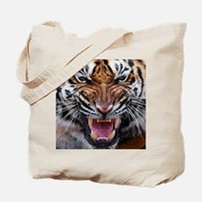 Tigers, Big Cat Football Tote Bag