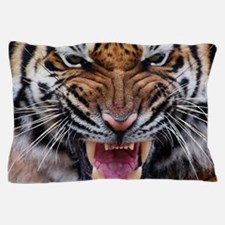 Tigers, Big Cat Football Pillow Case
