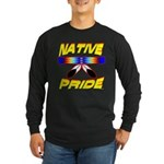 NATIVE PRIDE Long Sleeve Dark T-Shirt