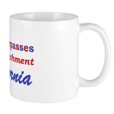 Overpasses for Impeachment California L Mug