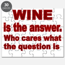 Wine is the Answer Puzzle