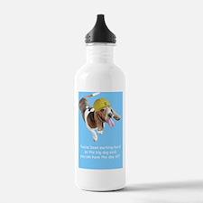 Basset Hound Birthday  Water Bottle