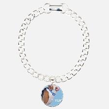 Beagle Yum Birthday Charm Bracelet, One Charm
