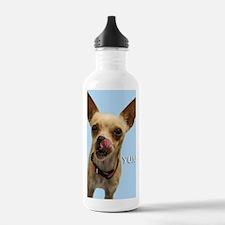 Chihuahua Yum Birthday Water Bottle