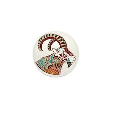 Capricorn Mini Button