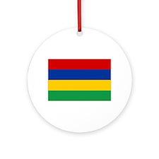 Cute Mauritius Ornament (Round)