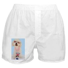 Bichon Frise Birthday Boxer Shorts