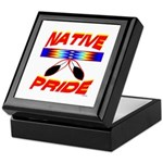 NATIVE PRIDE Keepsake Box