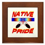 NATIVE PRIDE Framed Tile