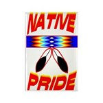 NATIVE PRIDE Rectangle Magnet