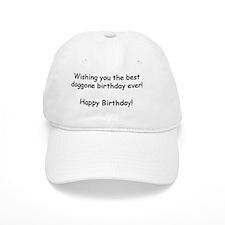 Wishing you the best doggone birthday ever 5x7 Baseball Cap
