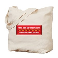 I'm the A/V Specialist Tote Bag