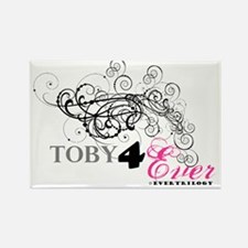 Toby4Ever TOBY Rectangle Magnet