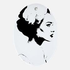 Madame Oval Ornament