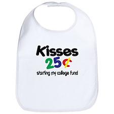 Kisses / College Fund! Funny Bib