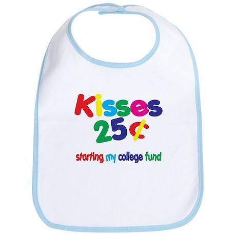Kisses / College Fund! Unique Bib