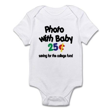 Photo/Baby College Fund! Funny Baby Bodysuit