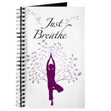 Just Breathe Wall Decal Journal