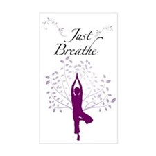 Just Breathe Wall Decal Decal