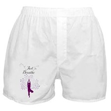 Just Breathe Wall Decal Boxer Shorts