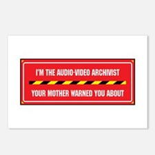 I'm the A/V Archivist Postcards (Package of 8)