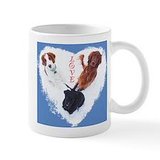 3 Dogs= Extra Love Mugs