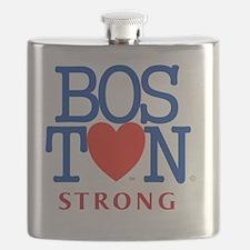 Boston Heart Strong Boston Marathon Red Sox Flask